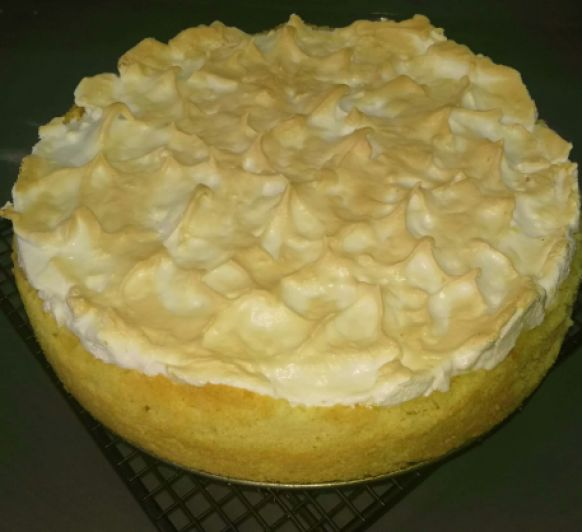TARTA DE LIMON Y MERENGUE