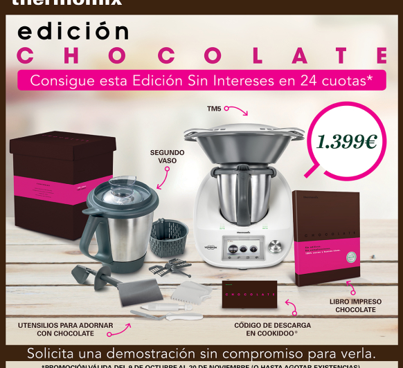 EDICIÓN CHOCOLATE CON Thermomix®