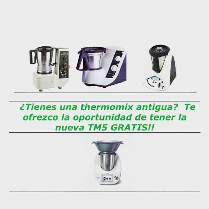 ¿Quieres tu Thermomix® TM5 a coste 0€? Pomoción 4x1 para clientes