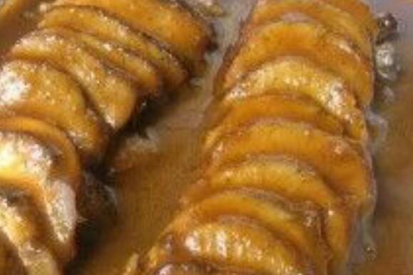 solomillo de cerdo con salsa de manzanas