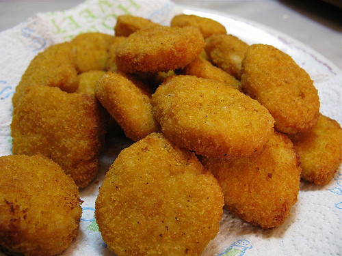 Nuggets de pollo caseros con Thermomix®