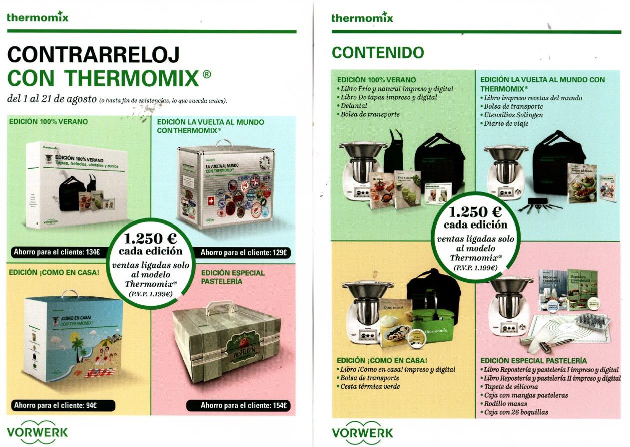 EDICION CONTRARRELOJ CON Thermomix®