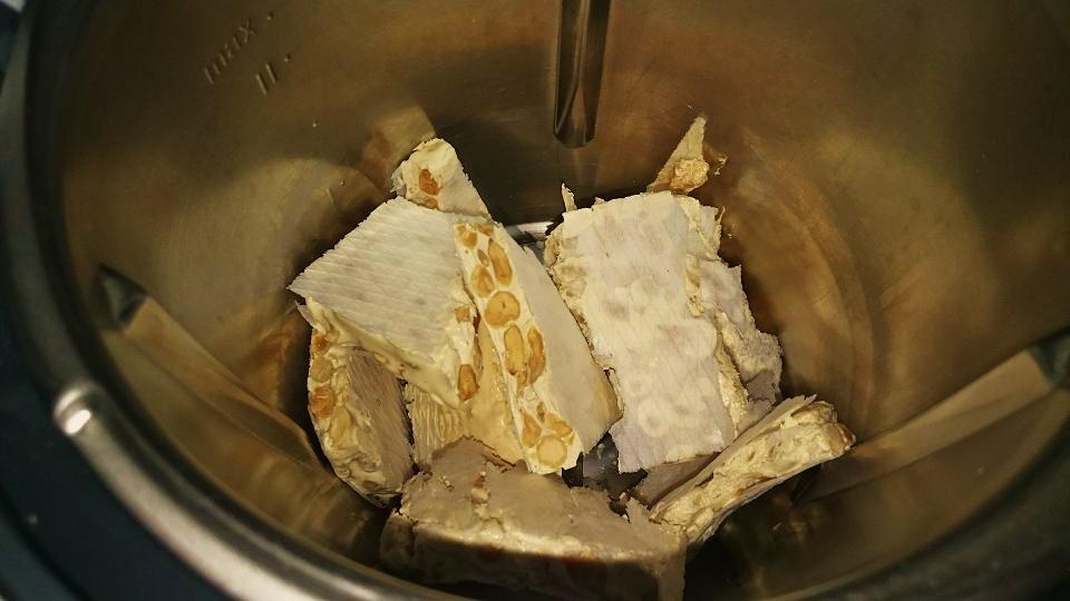 Un turrón, un helado con Thermomix®