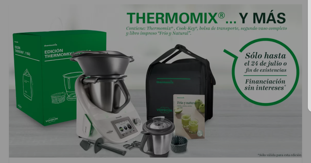 Thermomix® AL 0% DE INTERESES