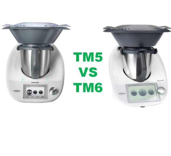 DIferencias Thermomix® TM5 y TM6