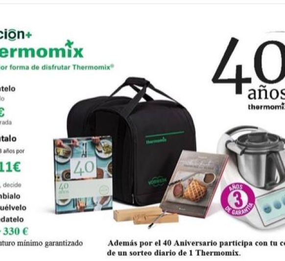 Thermomix® TM6 40 ANIVERSARIO