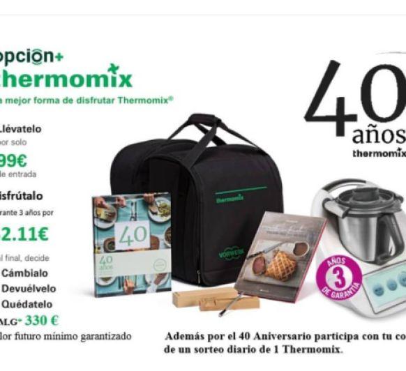 40 Aniversario de Thermomix® en España: celébralo con nosotros