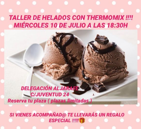 Taller de helados gratuito