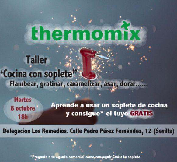 TALLER Thermomix® ESPECIAL CON SOPLETE