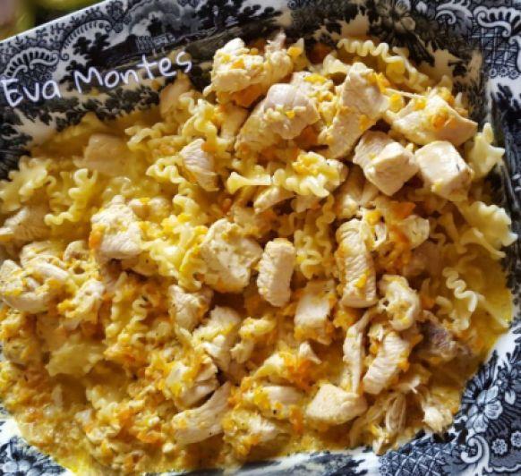 Pollo con pasta a la mostaza en Thermomix® ©️