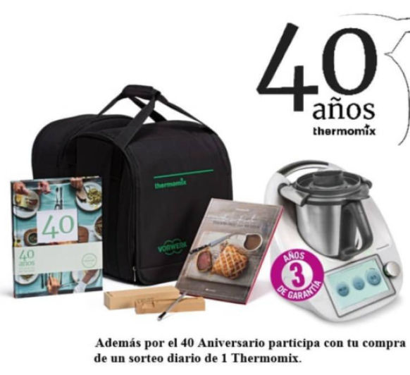 Sorteo especial 40 Aniversario de Thermomix® en España