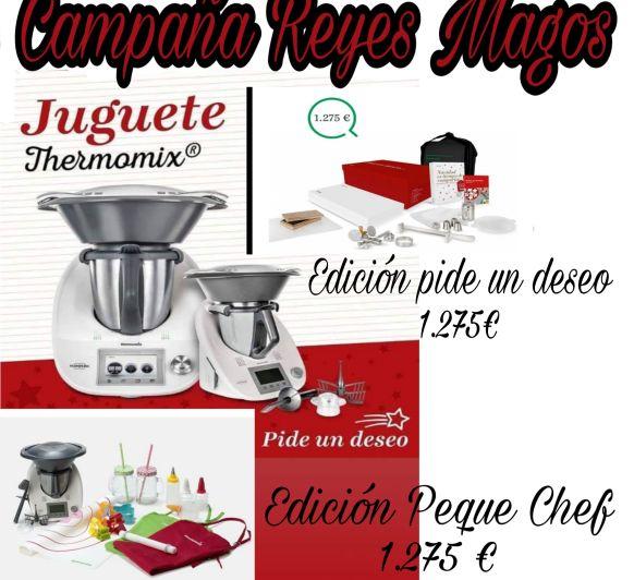 Campaña de Reyes Peque Chef con Thermomix®