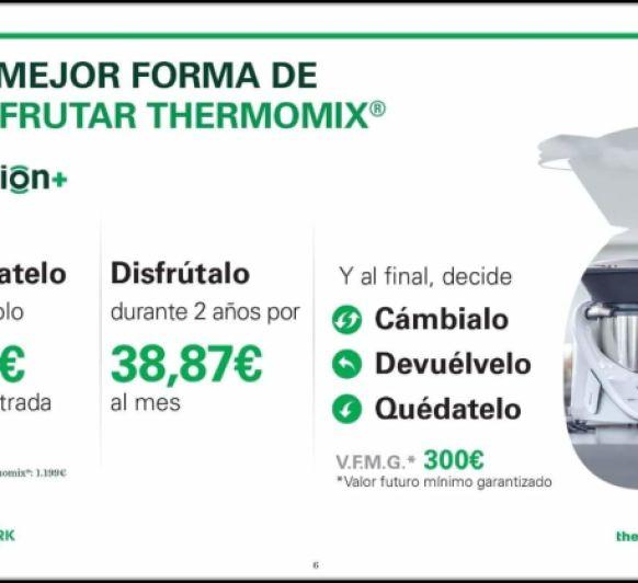 LA MEJOR OPCION DE TENER Thermomix®