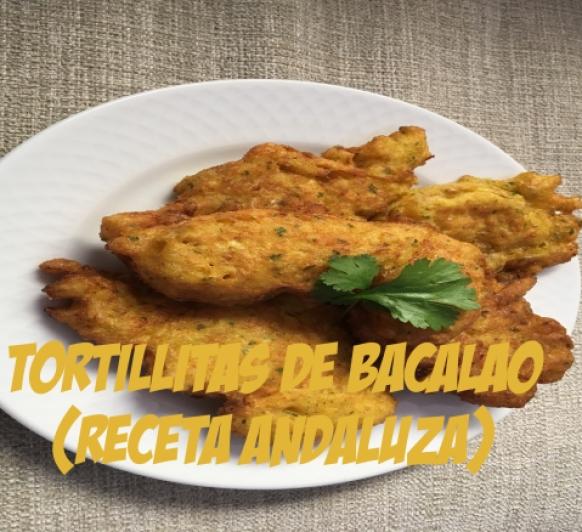 TORTILLITAS DE BACALAO ANDALUZAS CON Thermomix®